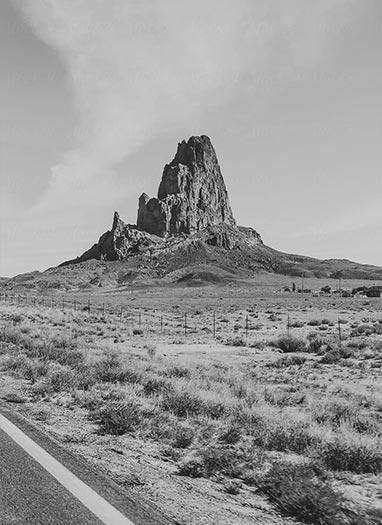New Mexico Rock Spire